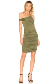Kendall + Kylie Sleeveless Ruched Dress - Product Mini Image