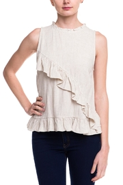 HYFVE Sleeveless Ruffle Top - Product Mini Image