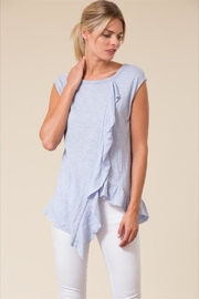 Love in  Sleeveless Ruffle Top - Product Mini Image