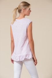 Love in  Sleeveless Ruffle Top - Front full body