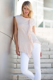 Love in  Sleeveless Ruffle Top - Side cropped