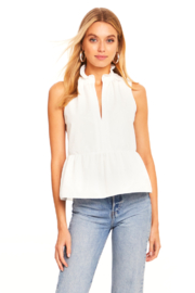Amanda Uprichard Sleeveless Saffron Top - Product Mini Image
