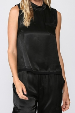 Fate Sleeveless Satin Top - Product List Image