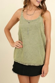 Umgee USA Sleeveless Scoop Neck - Product Mini Image