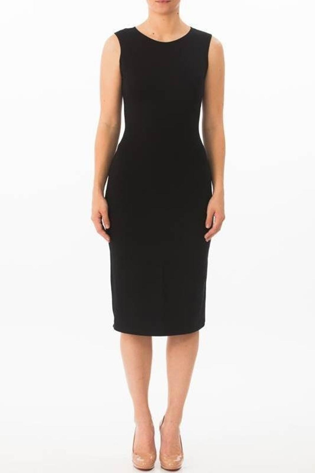 Karen Michelle Sleeveless Sheath Dress - Front Cropped Image