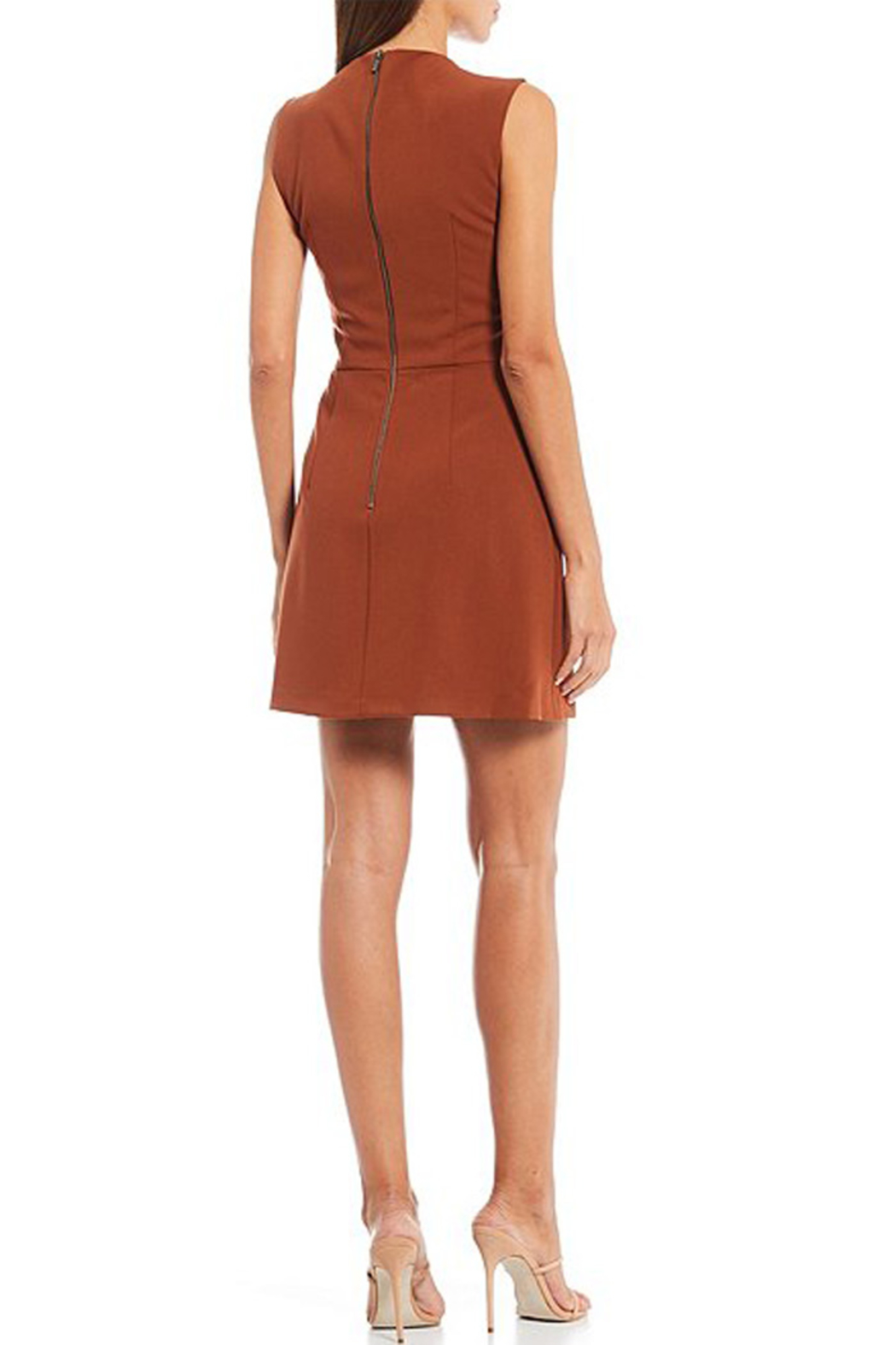 French Connection SLEEVELESS SHEATH DRESS - Front Full Image