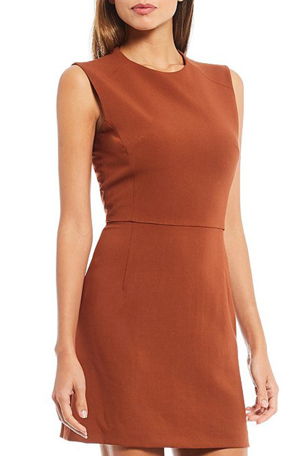French Connection SLEEVELESS SHEATH DRESS - Side Cropped Image