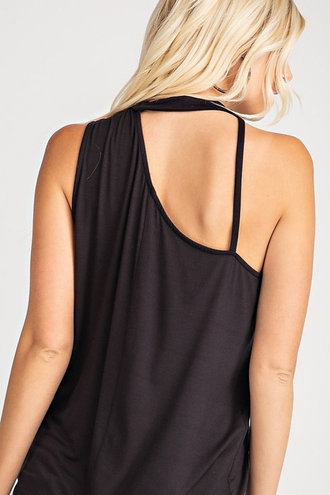 143 Story Sleeveless Strap Detail Top - Side Cropped Image