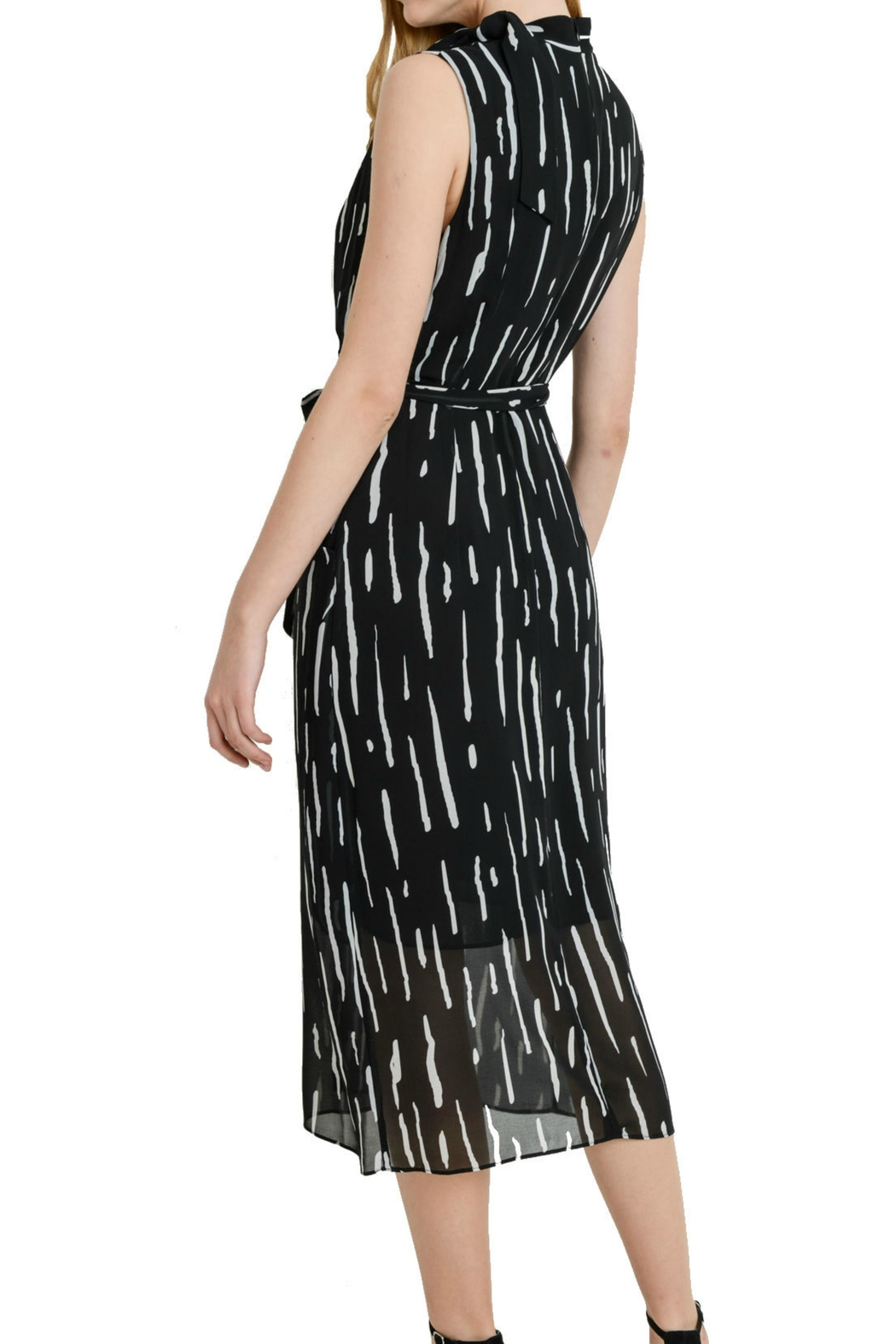 Aryeh Sleeveless Striped Dress - Front Full Image