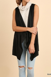 Umgee USA Sleeveless Suede Vest - Product Mini Image