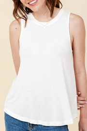 Double Zero Sleeveless Swing Tank - Side cropped