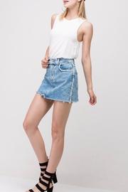 Double Zero Sleeveless Swing Tank - Front cropped