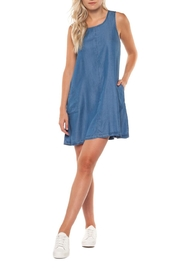 Dex Sleeveless Tencel Dress - Product Mini Image