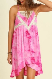 Umgee USA Sleeveless Tie-Dye Dress - Product Mini Image