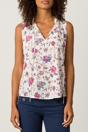 Margaret O'Leary Sleeveless Tie Top - Product Mini Image