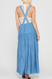 Wishlist SLEEVELESS TIERED SKIRT MAXI DRESS WITH POCKETS - Front full body