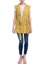 Fate Sleeveless Trench Vest - Product Mini Image