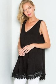 American Chic Sleeveless Tunic Top - Front cropped