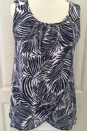 Michael Tyler Sleeveless Tunic Top with Back Detail - Product Mini Image