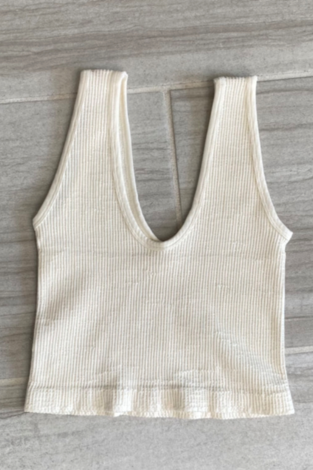 By Together Sleeveless V-Neck Top - Front Cropped Image