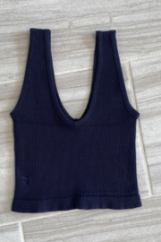 By Together Sleeveless V-Neck Top - Front full body