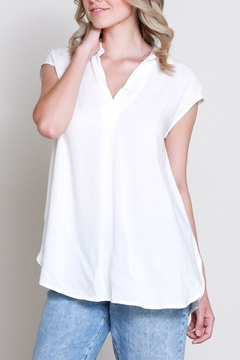 Shoptiques Product: Sleeveless Vfront Shirt