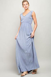 LLove Sleeveless Washed Maxi Dress - Product Mini Image