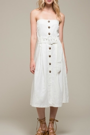 Moon River Sleeveless Woven Dress - Product Mini Image