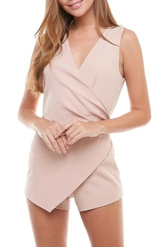 Shoptiques Product: Sleeveless Wrap Romper