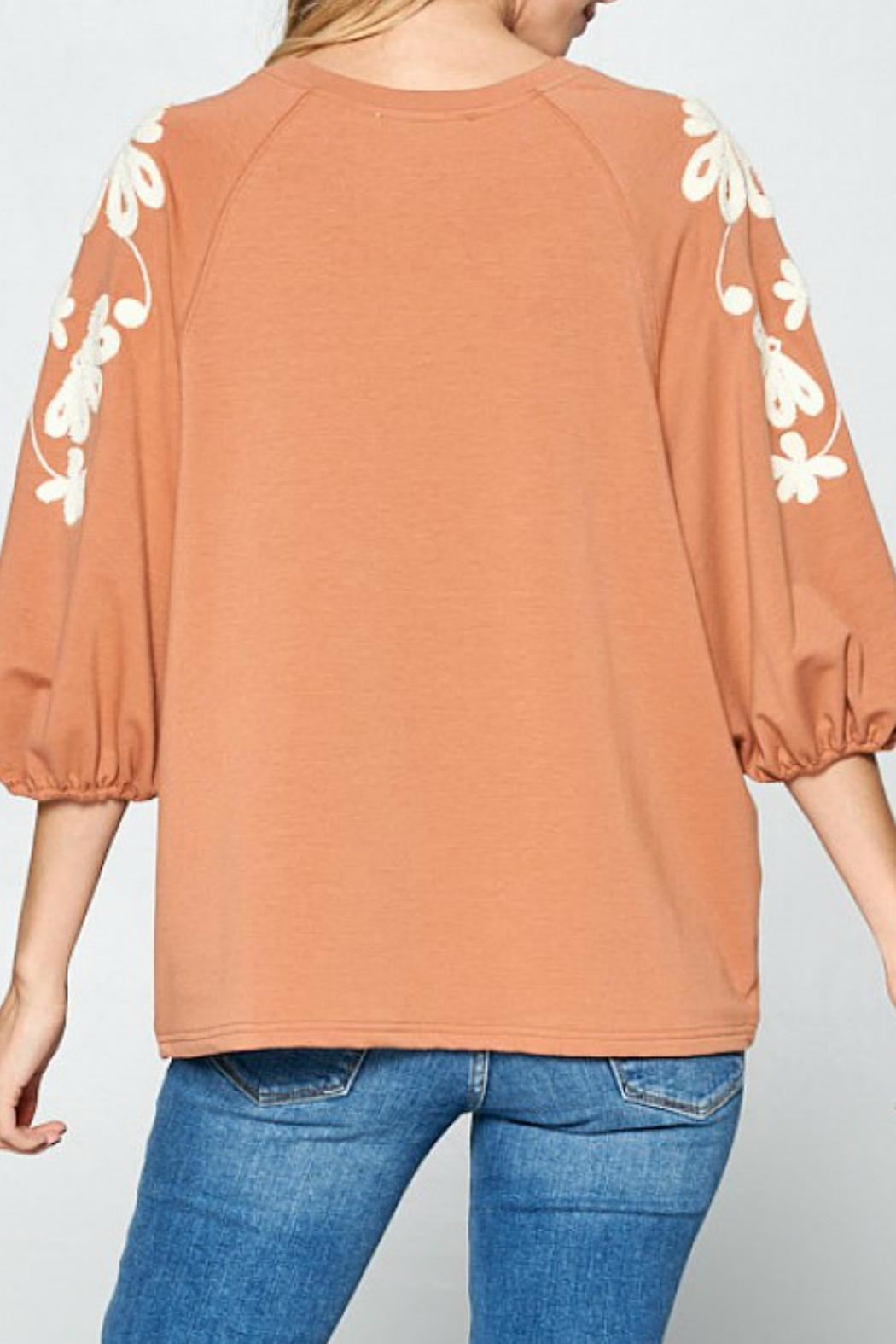Ellison Sleeves That-Don't-Quit Top - Side Cropped Image