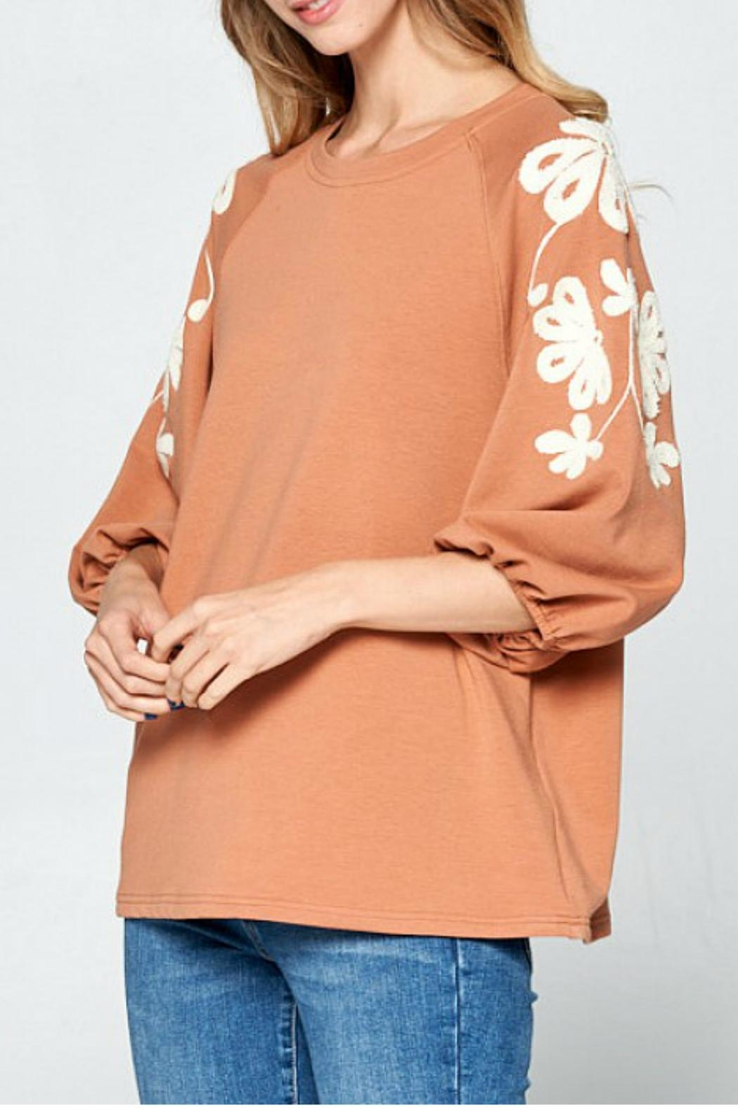 Ellison Sleeves That-Don't-Quit Top - Front Full Image