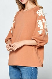 Ellison Sleeves That-Don't-Quit Top - Front full body
