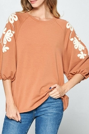 Ellison Sleeves That-Don't-Quit Top - Front cropped