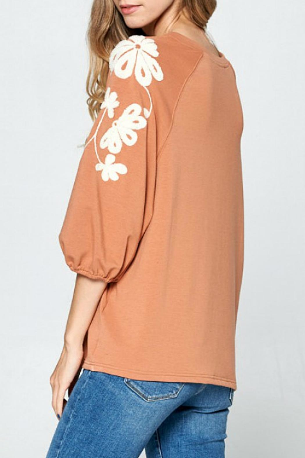 Ellison Sleeves That-Don't-Quit Top - Back Cropped Image