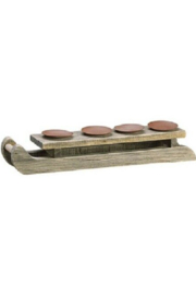The Birch Tree Sleigh Candle Holder - Product Mini Image