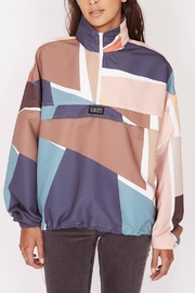 Obey Slice Anorak - Front cropped