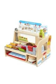 Melissa & Doug Slice & Stack Sandwich - Product Mini Image