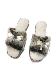 Pia Rossini Slide Furry Slipper - Product Mini Image