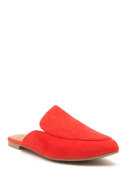 Qupid Slide In Mules - Front cropped