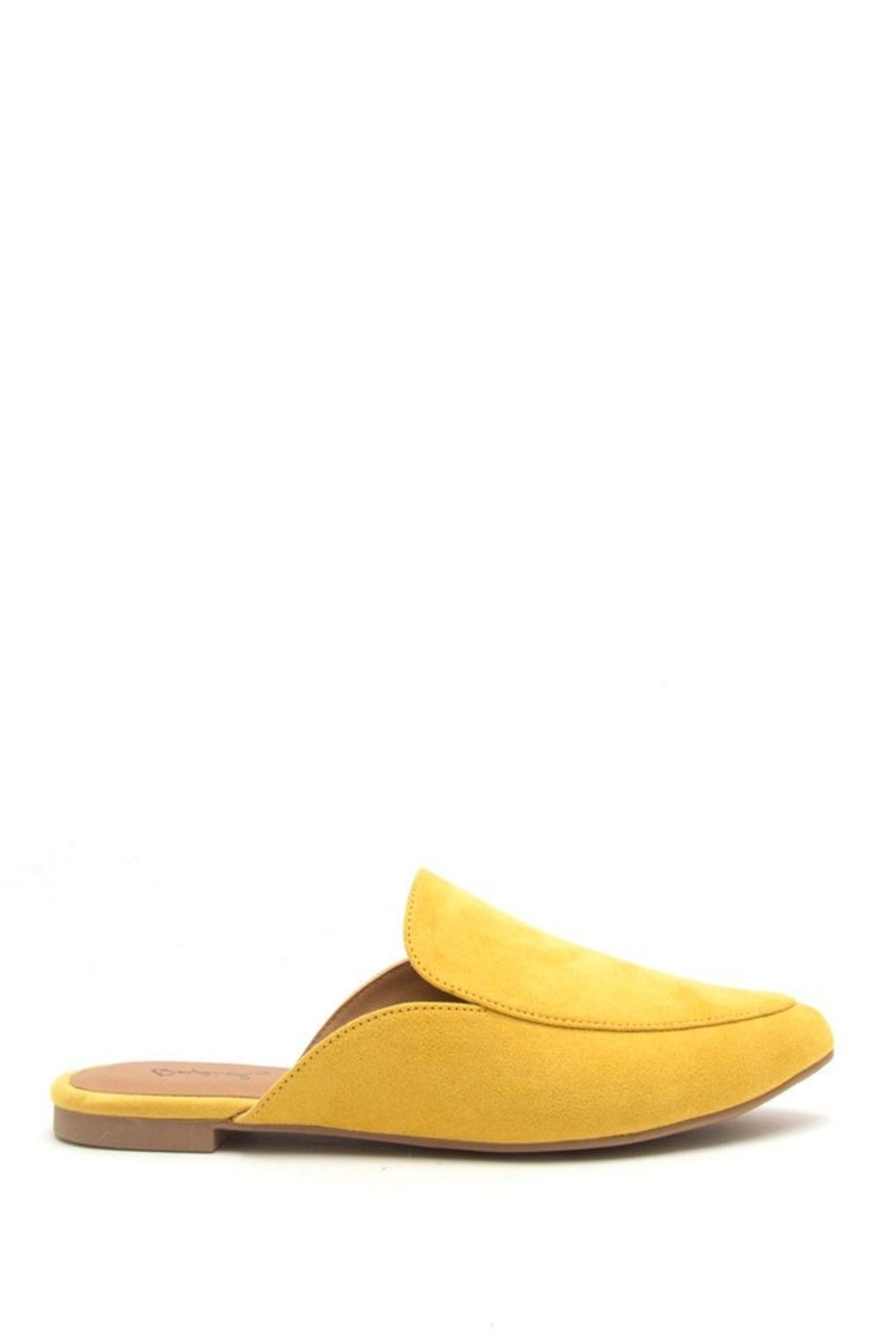 8e8b081e7d4 Qupid Slide In Mules Yellow from Orlando by Zingara Souls — Shoptiques