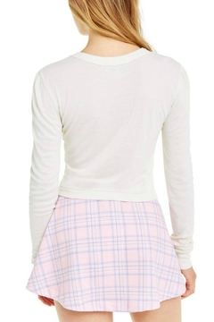Wildfox Slightly-Superficial Cropped Long-Sleeve - Alternate List Image