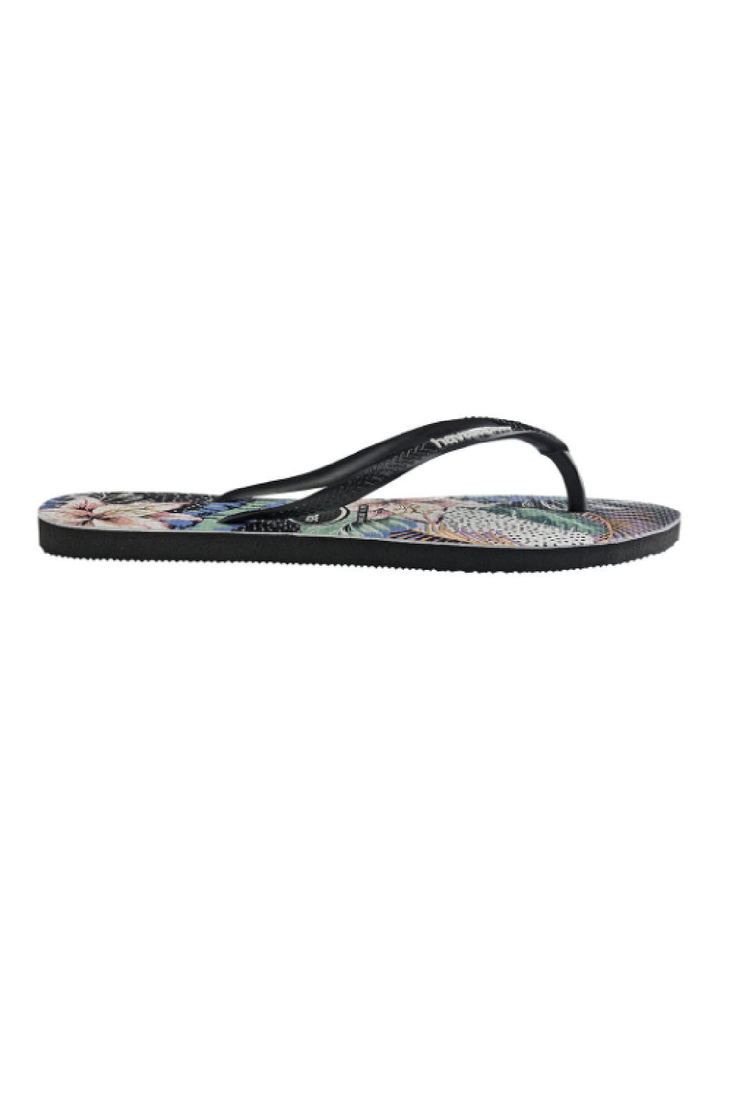 Havaianas Slim Animal Floral - Side Cropped Image