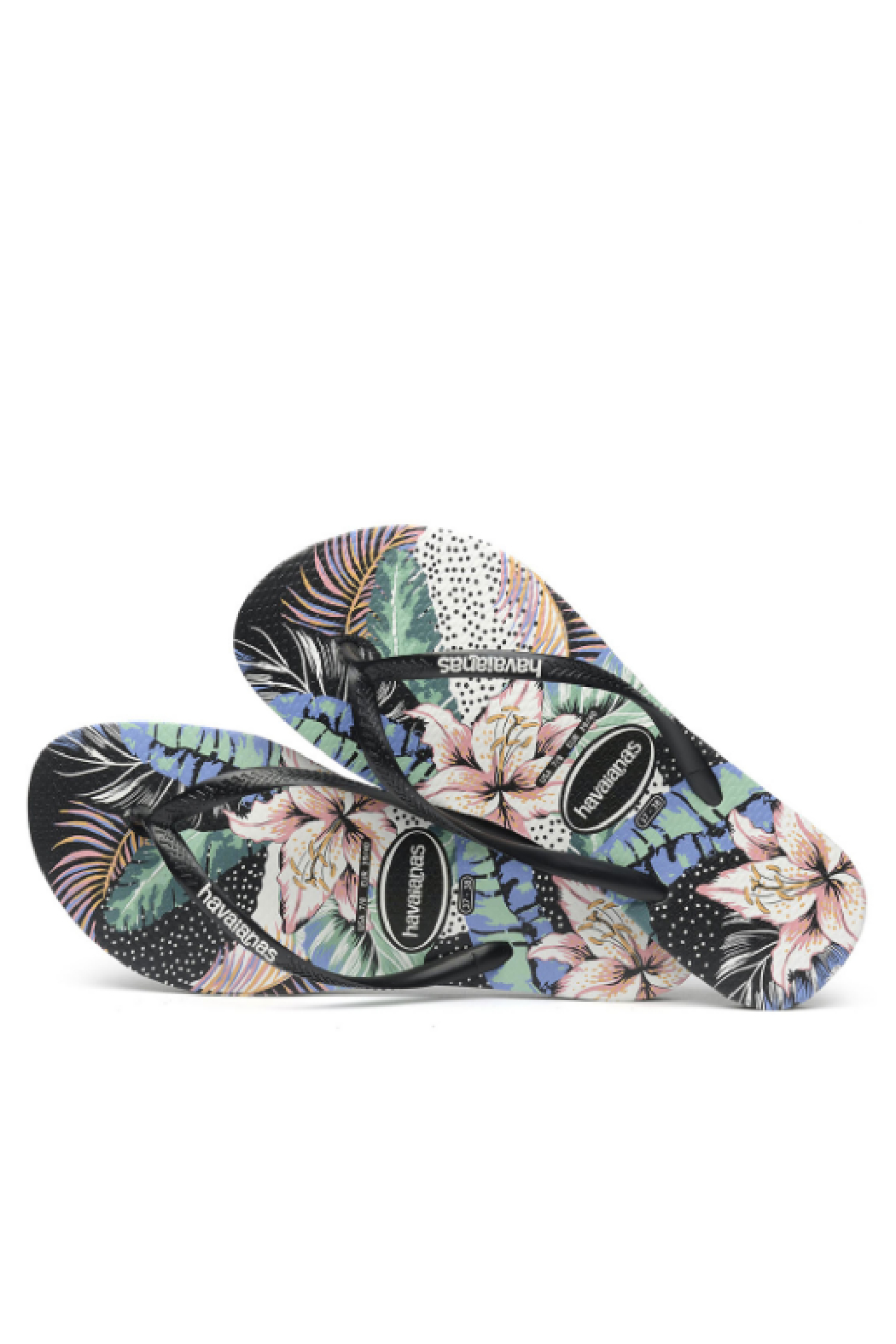 Havaianas Slim Animal Floral - Front Full Image