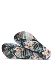 Havaianas Slim Animal Floral - Front full body