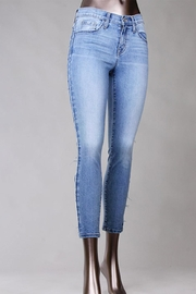 Flying Monkey Slim Blue Jeans - Product Mini Image
