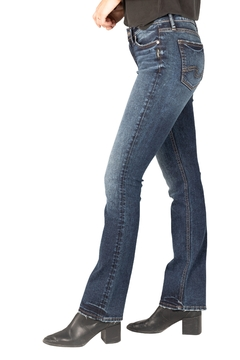 Silver Jeans Co. Slim Boot-Cut Silver Jeans - Product List Image