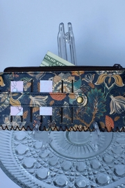 Ole' slim credit card wallet with snap - Side cropped