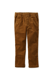 Tea Collection Slim Fit Corduroy Pant - Front cropped