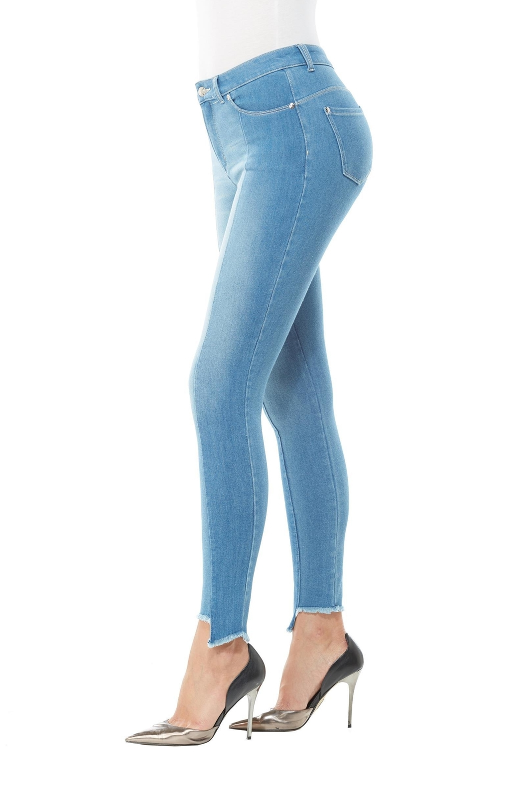 Peter Nygard Slim Fit Jeans - Front Full Image