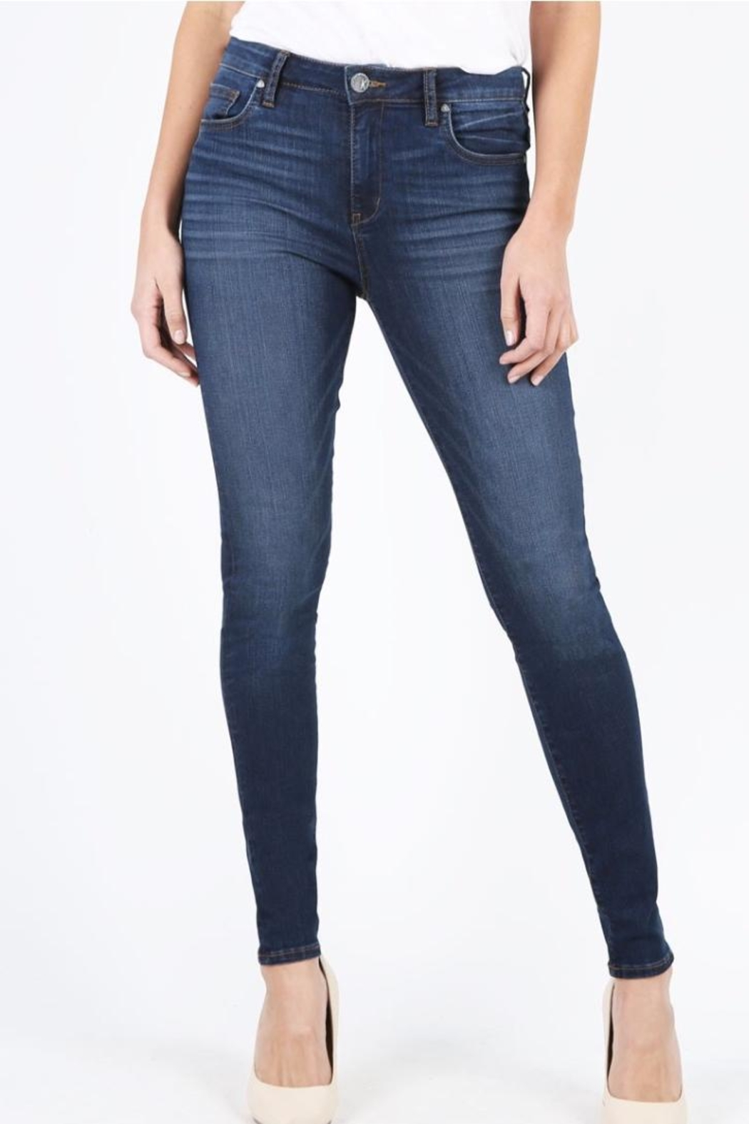 Kut from the Kloth Slim-Fit Skinny Jeans - Main Image